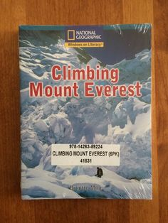 National Geographic 6 Educational Booklets Climbing Mount Everest Social Studies #BookletBundle