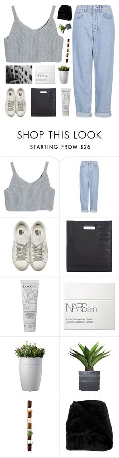 """""""coming for you now"""" by nxstalgia ❤ liked on Polyvore featuring Boutique, Golden Goose, 3.1 Phillip Lim, Lancôme, NARS Cosmetics, Laura Ashley, Dot & Bo, Woven Workz, bedroom and vintage"""