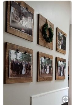 If you are looking for Diy Pallet Wall Art Ideas, You come to the right place. Here are the Diy Pallet Wall Art Ideas. This article about Diy Pallet Wall Art Ide. Decoration Photo, Decoration Pictures, Wall Decor With Pictures, Ideas For Hanging Pictures, Kitchen Wall Pictures, Wood Pictures, Frame Decoration, Hang Pictures, Family Pictures