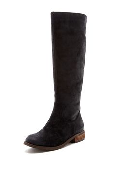 DV by Dolce Vita Lilli Tall Suede Zip Boot