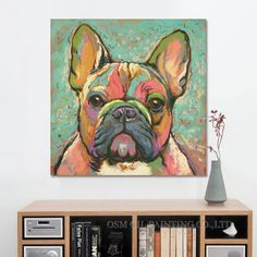 FREE SHIPPING WORLDWIDE   Just when we thought that squishy little face couldn't get any better. This original, high-quality oil painting is custom painted when you order, so each piece is…