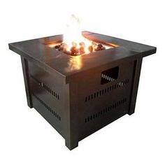 AZ Heater Propane Antique Bronze Fire Pit