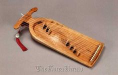 Rare Korean musical instruments