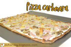 Dukan Day: Pizza Carbonara