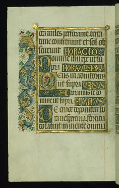 W.420, fol. 293v. Almugavar Hours, Spain, 1510-20.