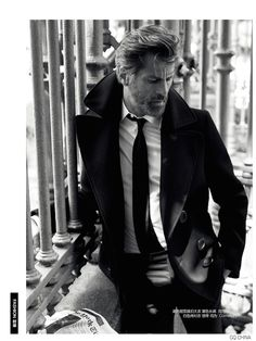 Mark Vanderloo Dons Formal Fall Fashions for GQ China August 2014 Issue image Mark Vanderloo GQ China August 2014 Editorial 004