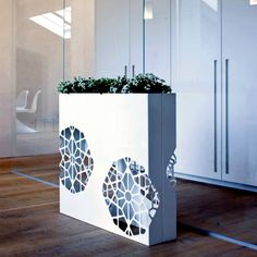 Flower Pots are light and yet modern decorative partitions