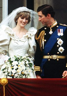 The marriage of Princess Diana and Prince Charles was the wedding of the century. In the midst of growing world powers, war, and technological advances, this wedding was able to bring many people together even if only for a day. The couple married July 29, 1981. They later divorced in 1996.
