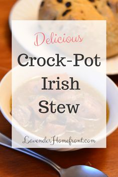 This traditional Irish stew uses lamb and many other regional ingredients. This stew is great for cold evenings, or St. Patrick's Day! #holidayrecipes #stpatricksday #crockpotrecipes #crockpotdinner #crockpotmeals #lambrecipes #stewrecipes #lambstew