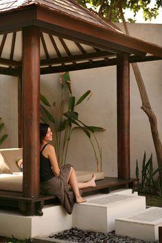 pool hut - Villa de daun in Kuta, Indonesia