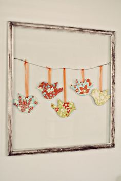 DIY: paper birds - cute for card