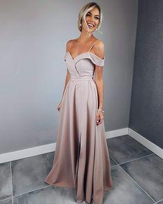 Off Shoulder Prom Dress,Maxi Dress,Evening Dress