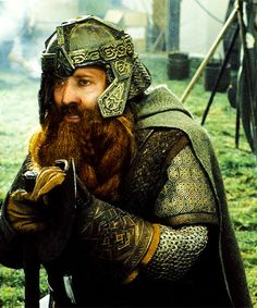 Nicolas Cage as Gimli in The Lord of the Cage: The Return of the Cage
