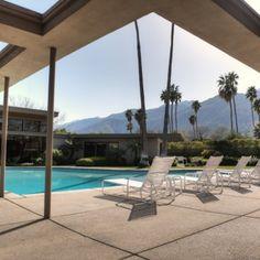 Frank Sinatra's Palm Springs house, fab mid-century modern design