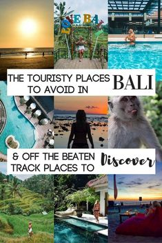 The Tourist Spots To Avoid & Untouched Areas To Discover Planning a trip to Bali but don't know where to go? Find out all the touristy areas to avoid + the off the beaten track destinations yet to be discovered in this article! Oh The Places You'll Go, Places To Travel, Travel Destinations, Places To Visit, Travel Stuff, Bali Travel Guide, Asia Travel, Travel Tips, Ubud