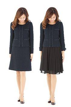 【スカートスーツ】アッドルージュ AddRougeテーラードジャケットスカート2点セットスーツ【j5033】 - http://ladysfashion.click/items/105990