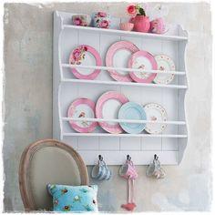 cute plate rack