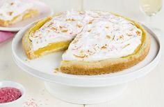Lemon meringue taart met rabarber recept   Dr. Oetker