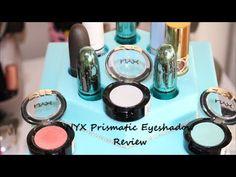 NYX Prismatic Eye Shadow: Mermaid - YouTube