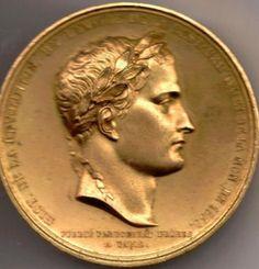 Medaglia coniata in occasione del rientro in Francia della salma nel 1840