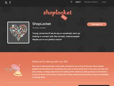 21 Inspiring Examples of About Pages | Inspiration