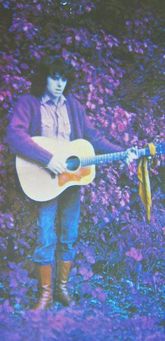 A colourful picture of the colourful Scotsman Donovan. From the Barabajagal Tour Book, 1969. Love is hot on our road trip. http://www.mixcloud.com/TheAudiofilesPresent/on-the-road-volume-two-where-we-reach-the-promised-land/