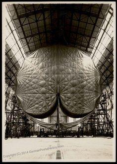 Germany Hindenburg Zeppelin Original Photograph
