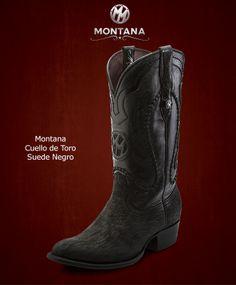 #Montana #Botas #Montana #CuellodeToro #Modelo MN203CT #Color SuedeNegro #MontanaisBack