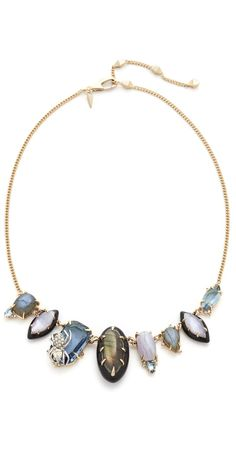 Alexis Bittar Crystal Encrusted Spider Bib Necklace | SHOPBOP