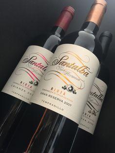 Mantener la elegancia, el orden... en medio del cambio. Nueva imagen para la línea de vinos Santalba.