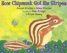 September 24, 2014. When Bear and Brown Squirrel have a disagreement about whether Bear can stop the sun from rising, Brown Squirrel ends up with claw marks on his back and becomes Chipmunk, the striped one.