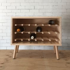 Make this stunning DIY timber wine rack with step-by-step instructions & DIY video. For stockists of Porta timber or mouldings call 1300 650 787 or visit Wine Rack Cabinet, Wine Rack Storage, Wine Rack Wall, Wood Wine Racks, Ikea Wine Rack, Dyi Wine Rack, Tv Storage, Record Storage, Wine Rack Inspiration
