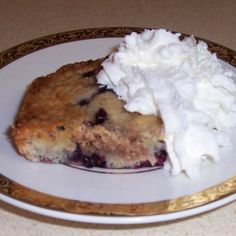 Mother's Blueberry Buckle