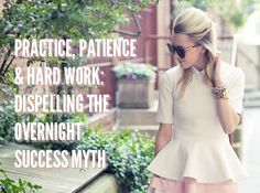 Getting real about blogging success: it takes times and effort!