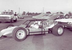 This is a Super Modified (skeeter) Holley drove for Bill Hite out of Jackson, Alabama