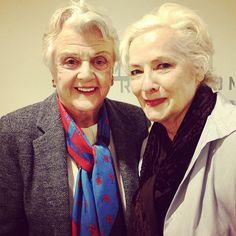 Angela Lansbury and Betty Buckley