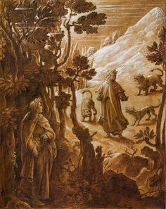Illustration of Dante's Inferno, Canto 1
