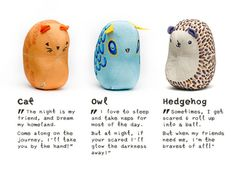 LeeLuus are soft, touch-controlled nightlights that help kids sleep. They run on hugs and cuddles! | Crowdfunding is a democratic way to support the fundraising needs of your community. Make a contribution today!