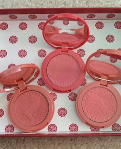 TARTE BLUSHES!  Left- Achiote Middle- True Love Right- Timeless