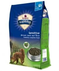 Supadog Sensitive Lamb and Rice, perfect for dogs with a sensitive tummy