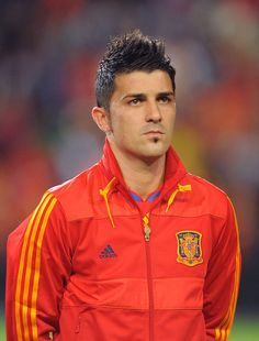 David Villa, soccer player for Barcelona. I love me some Spanish soccer players ;)