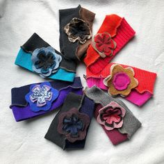 Available at our store Refinery Earwarmers Paonia Colorado, Recycled Sweaters, Headbands For Women, Ear Warmers, Handmade Clothes, Sustainable Fashion, Upcycle, Cashmere, Patches