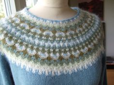 Orig. design Kerstin Olsson    Recreated by Solveig Gustafsson  Bohus knitting