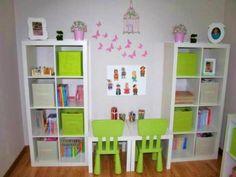 Photos décoration de Salle de jeux Enfantin Blanc Rose Dragée de TF