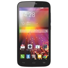 """UNLOCKED Alcatel OneTouch Pop Icon 7040T Google Android Phone, Front and Rear Camera, 5MP, 5"""" LCD, LED Flash, BLACK, NEW, BULK PACKAGED, 2G GSM 850/900/1800/1900MHZ, 3G HSPA 850/1900MHZ, AWS 1700/2100MHZ"""