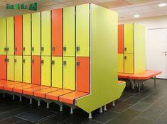 Changing Room Lockers for gym Gym Lockers, Changing Room, Locker Storage, Furniture, Home Decor, Walk In Closet, Dressing Room, Room Decor, Home Interior Design