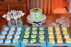 mickey mouse cupcakes baby 1 - Google Search