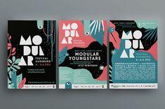 Stadtjugendring Augsburg - Modular Festival 2013, Gestaltung: KW NEUN Grafikagentur
