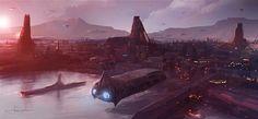 Port B by erenarik - Port B by erenarik - Digital Art / Drawings & Paintings / Sci-Fi