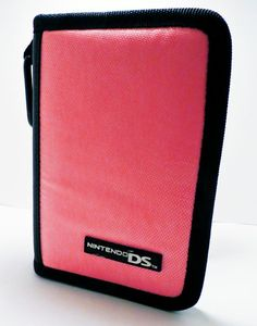 NINTENDO DS Console Carrying Case Pink & Black #Nintendo